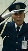 NCAの警備員のおっさん
