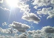 空を見上げる癖がある。