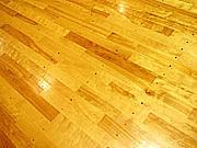京都の体育館でフットサル練習会