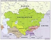 中央アジア地域
