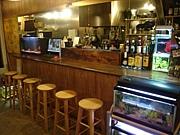 "Motorcycle Cafe ""ramble fish"""
