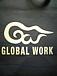 GLOBAL WORKの昔のロゴが好き