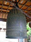 加茂神社の鐘を鳴らすのはあなた