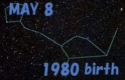 1980年5月8日生まれ♪