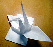 紙ナプキンで折り紙しちゃう