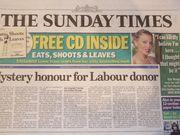 英国が誇る The Sunday Times