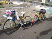 自転車オンリーな生活してるよん