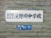 滝野川中学校