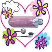 Walkman PINK♡