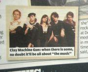 Clay Machine Gun