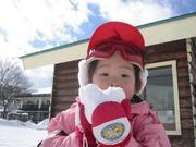 子供とスキー!