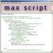 maxScript