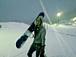 SNOW BOARDー雪山と遊部
