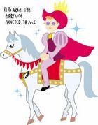 ☆白馬の王子様になりたぃっ☆