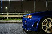 【青組】青い車の集まり