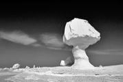 White Desert-サハラ砂漠ー