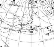 気象予報士a weather forecaster
