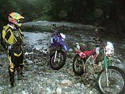 渓流釣り好きなバイク乗り
