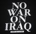 NO WAR ON IRAQ