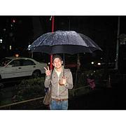 って言うか、傘でかくねえ。