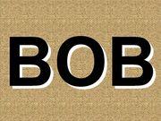 あだ名がボブです。