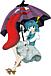 多々良小傘は凄く怖いお化け