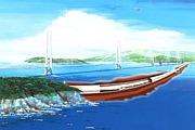 四国と九州に橋を架けよう。