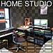 自宅スタジオ!!