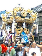 ★富嶋神社秋祭り★濱田★