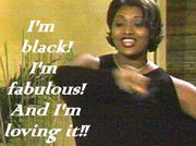 I wanted to be a black girl...