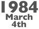 1984年3月4日生まれ