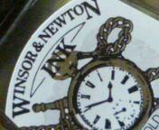 WINSOR&NEWTONのインク