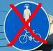 自転車で音楽を聴かない。