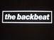 the backbeat