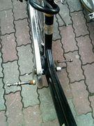 自転車をよく壊す!