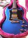 青いギター