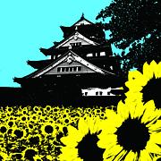大阪城を走ろ−!