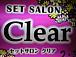セットサロン Clear